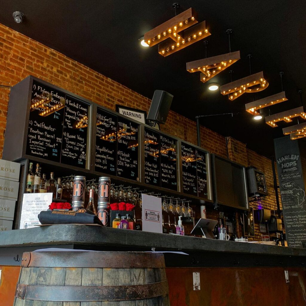 Harlem Bar Liquor Drinks Black Owned Business Judy's Black Book Beer