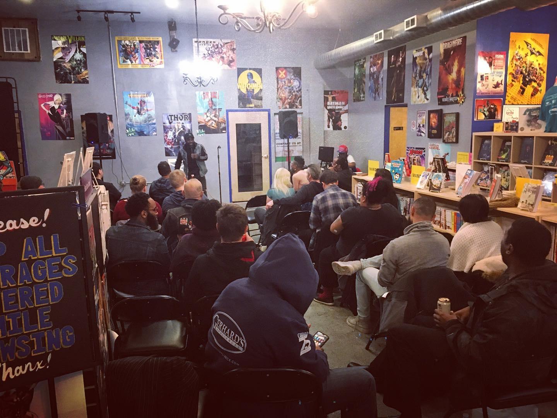 Amalgam Comics & Coffee-House