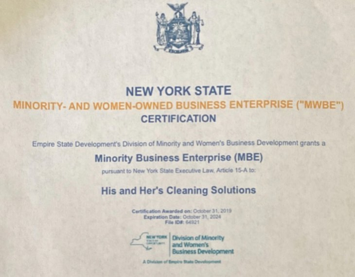 His & Hers Cleaning Solutions LLC.