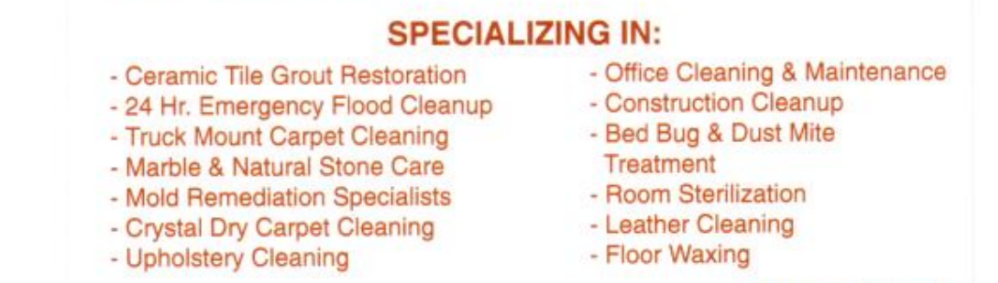 Carpet & Office Cleaning Lewis Stony Brook Long Island Queens new york black owned business judys black book